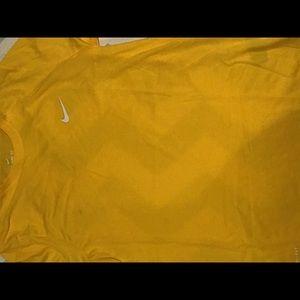 Nike yellow shirt